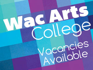Wac Arts College are looking for staff.