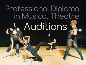 Next audition date for the Diploma course is 27th July 2014