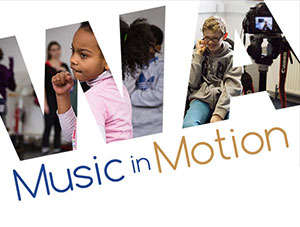 Music in Motion half term project coming up in February
