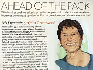Ms Dynamite talks about CEO Celia Greenwood