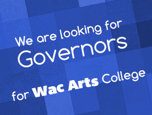 Governors wanted for Wac Arts College