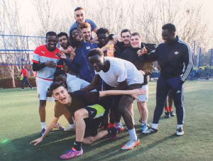 Wembley to Soweto, Arsenal in the Community project