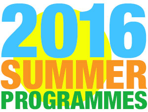 Our Summer Programmes for 2016 are up and recruiting now!