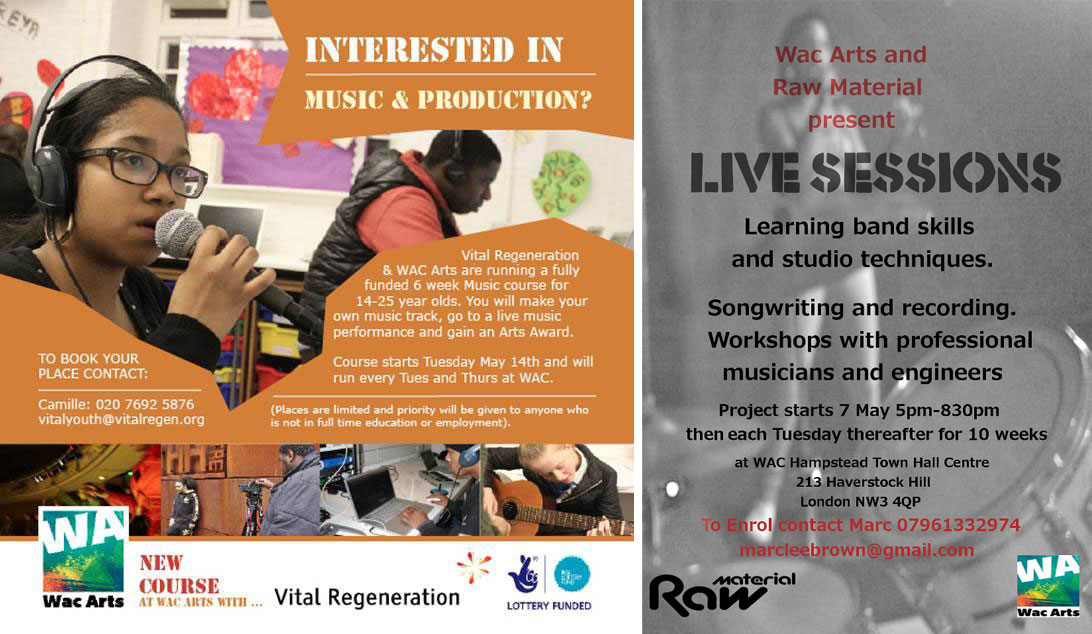 Two fantastic NEW music opportunities