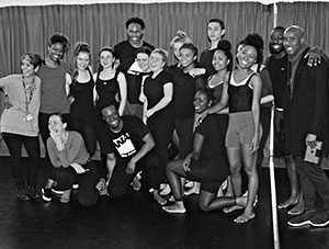 Diploma students have a visit from Alvin Ailey