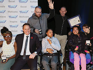 Wac Arts at the Jack Petchey Achievement Awards