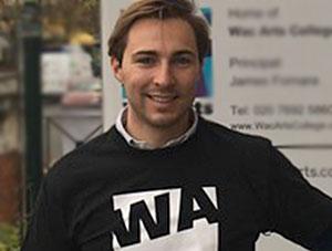 Samuel Edge is climbing Mount Kenya to raise money for Wac Arts