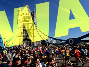 Wac Arts Running London Landmarks Half Marathon Next March!