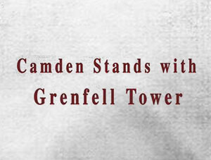 Camden Stands with Grenfell Tower – Friday 23 June at 7.30pm