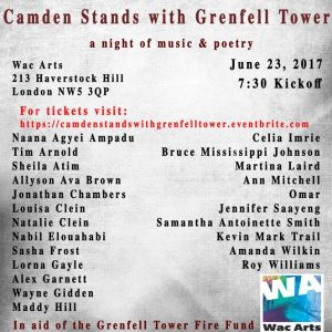 Camden Stands with Grenfell Tower