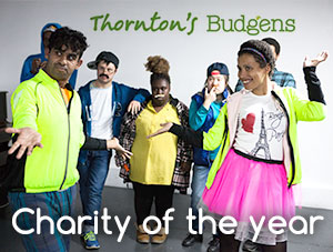 Wac Arts is Thornton Budgen's Charity of the Year!