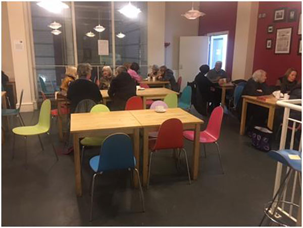 Atrium Café has new chairs