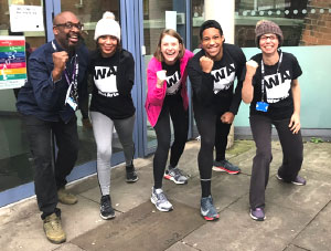 10 Wac Arts runners are signed up to take part in the London Landmarks Half Marathon in March