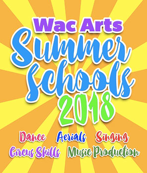 Wac Arts Summer Schools 2018