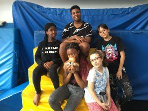 Dance summer school group