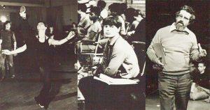 Teresa Noble, Celia Greenwood and Ed Burman