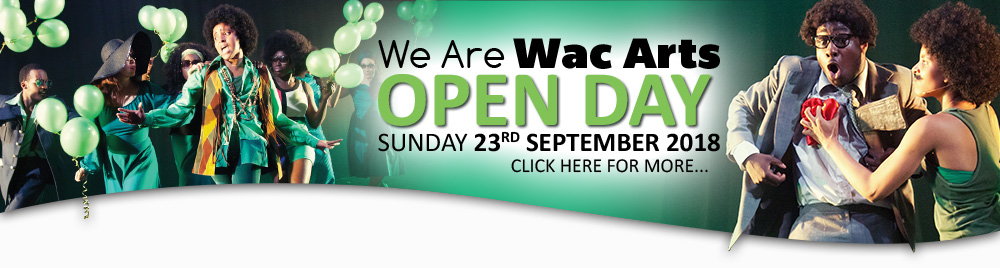We Are Wac Arts Open Day