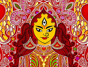 Durga Puja at Wac Arts