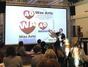 Wac Arts at the BBC Creative Jam