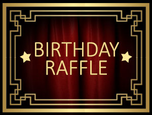 Fantastic prizes up for grabs in our Wac Arts Birthday Raffle!