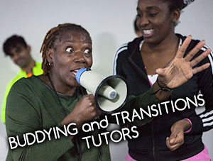 Buddying and transitions tutors