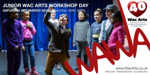 Junior Wac Arts Workshop Day