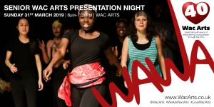 Senior Wac Arts Presentation Night