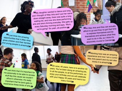 What our families think about Wac Arts!