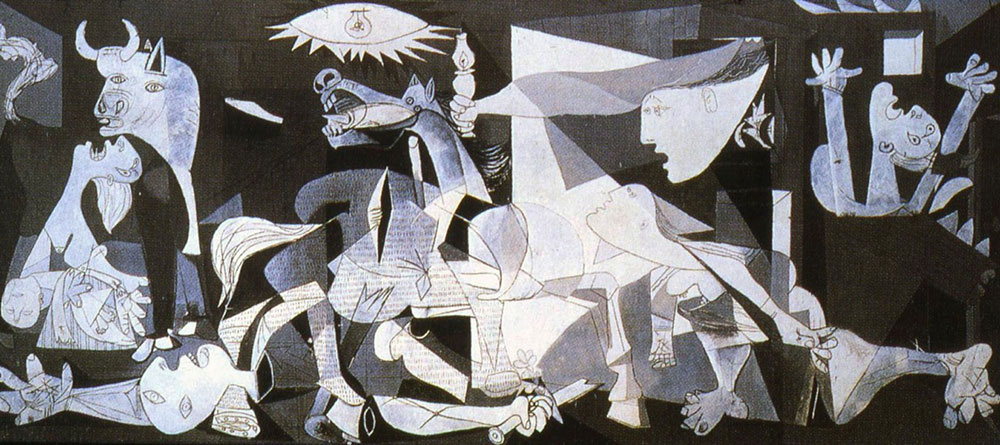 Pablo Picasso painted Guernica in June 1937