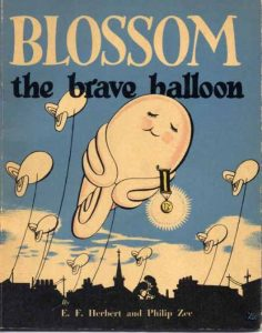 Blossom the Brave balloon