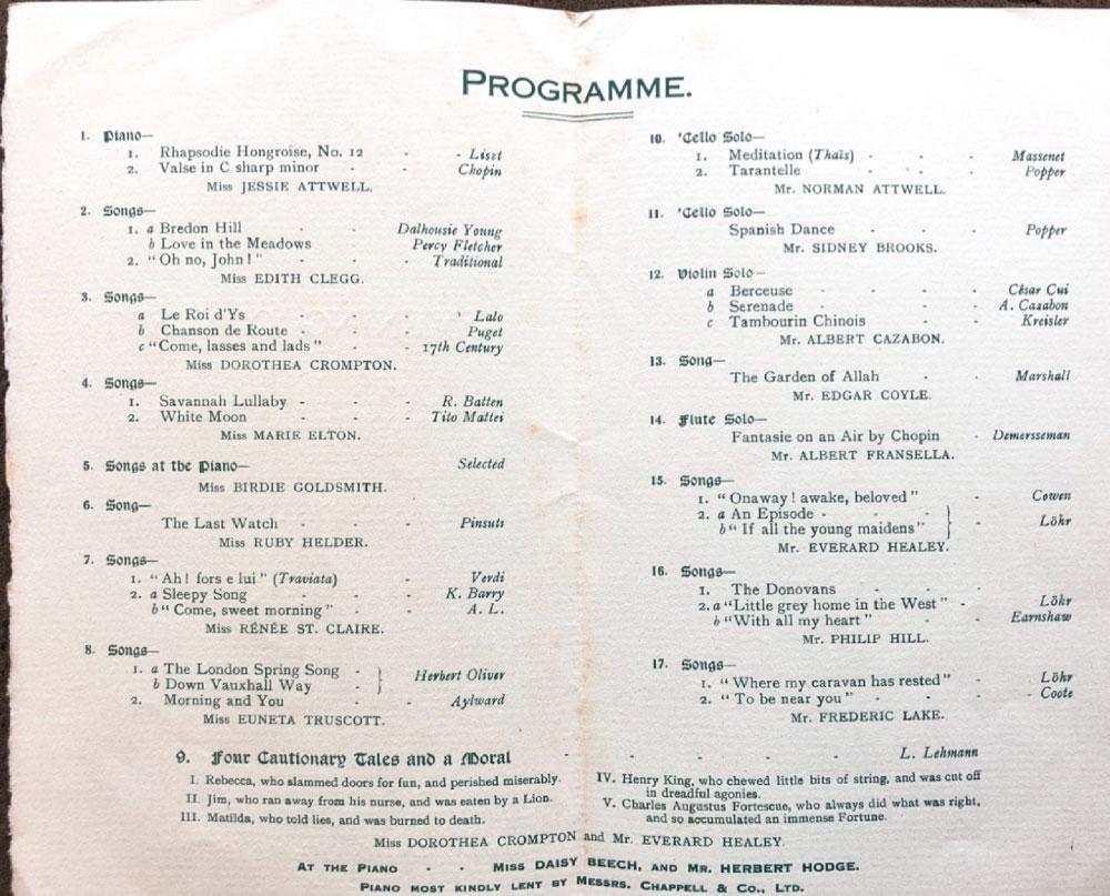 Inside the programme