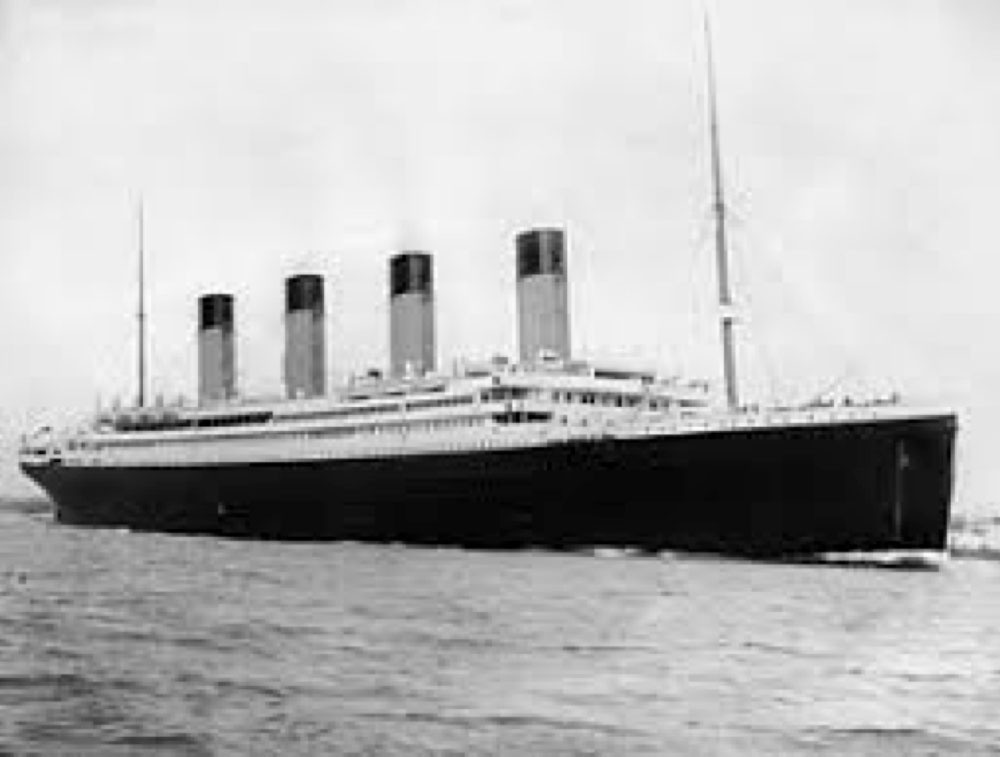Titanic Disaster Fund – Hampstead Town Hall at 8.00pm Saturday May 11th 1912