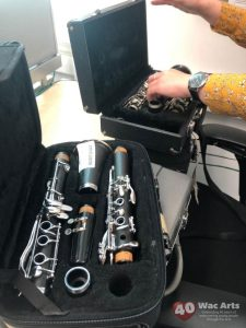 Ronnie Scott's instruments arrived