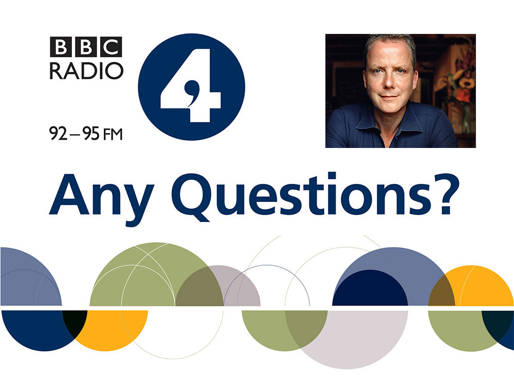 Join the discussion with BBC's Any Questions? this December