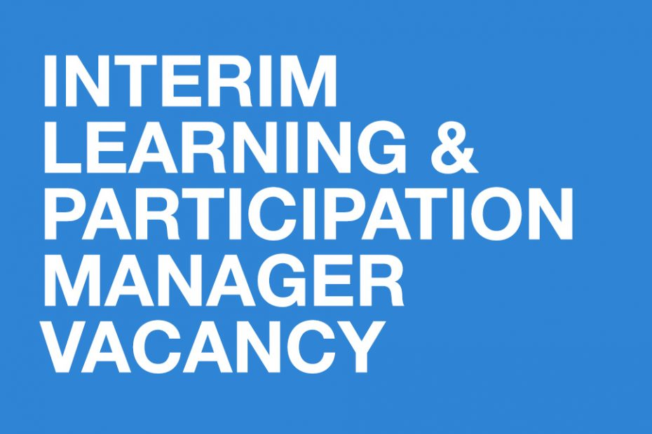 learning and participation manager