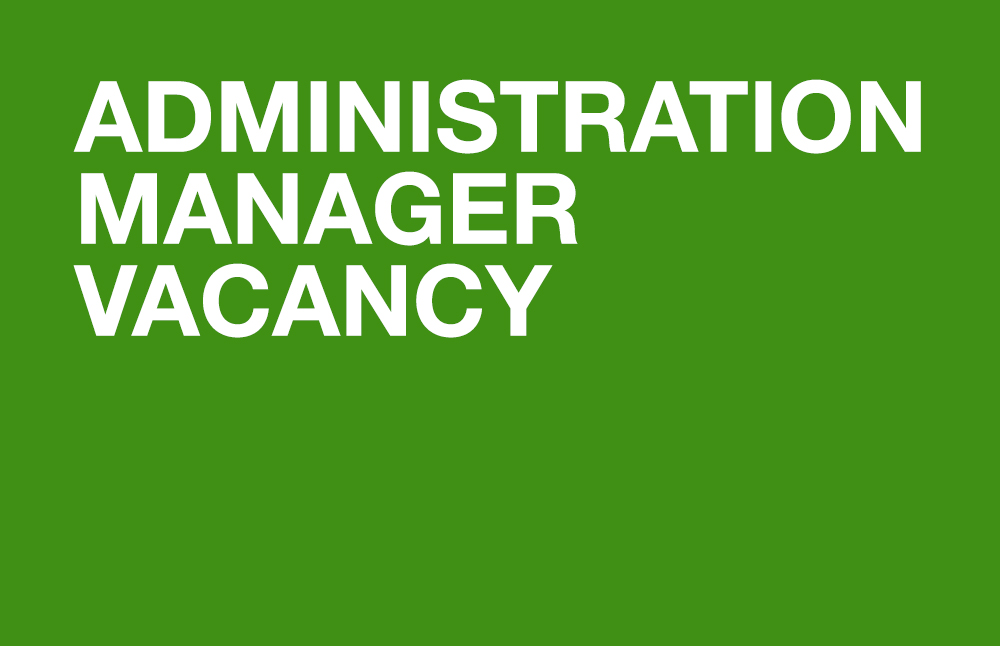 Administration Manager Vacancy