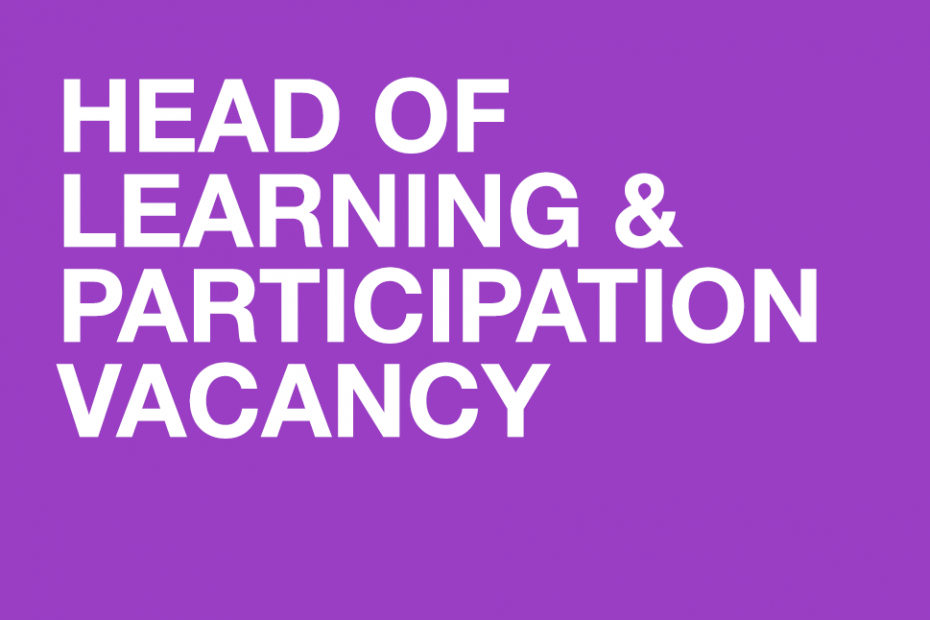 Head of Learning and Participation